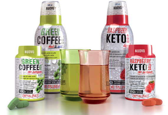 GREEN COFFEE 400 & RASPBERRY KETO 400
